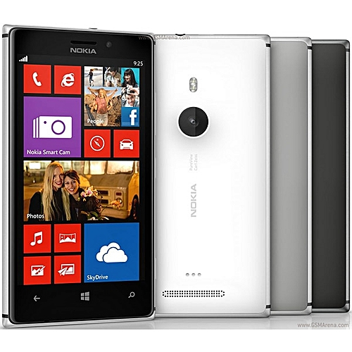 Refurbished Phone Nokia Lumia 925 Mobile Phones 16GB 8MP Camera Dual Core 4.5 Inch