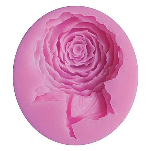 Big Rose Flower Silicone Fondant Cake Molds Soap Chocolate Mould For The Kitchen Baking
