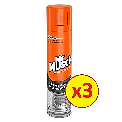 Mr Muscle Oven Cleaner 300ml Pack Of 3