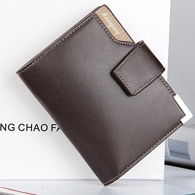 6c0d82a51918 Baellerry Wallet Men Leather Short Purse Male Clutch Business Money Bag