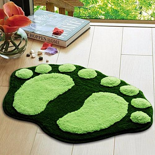 Soft Feet Memory Foam Bath Bathroom Bedroom Floor Shower Mat Rug GN-green