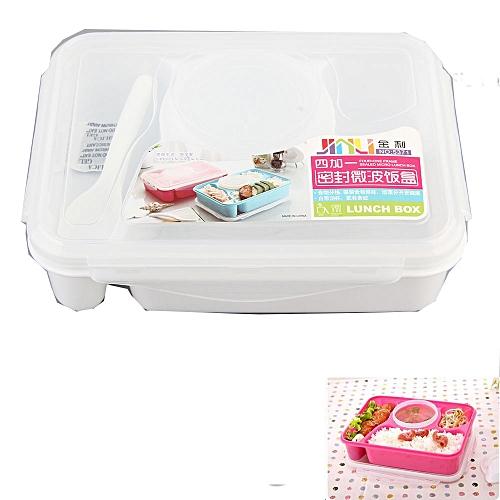 Multi-purpose Lunch Box-white