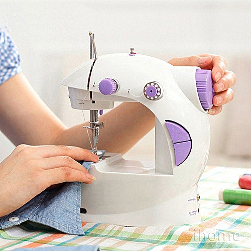 Desktop Mini Sewing Machine (Battery And Electric Powered)