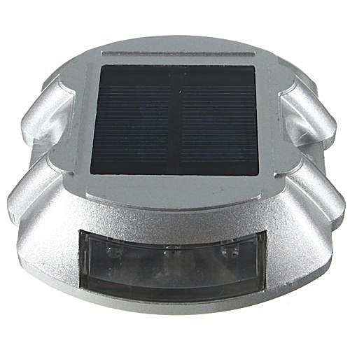 Waterproof Solar Power Road Pathway Stair Dock Light Driveway Lighting Path 6LED White
