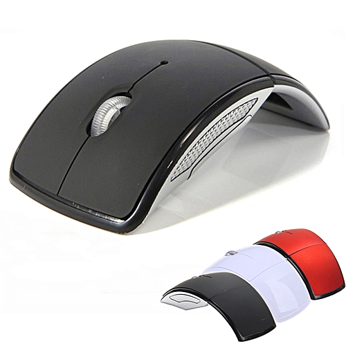Wireless Mouse 2.4G Computer Mouse Foldable Folding Optical Mice USB Receiver For Laptop PC Computer