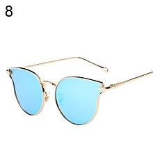 d54a16c312 Cute Outdoor Women Cat Eye Designer Sunglasses Glasses UV400 Retro Big  Frame Eyewear-8
