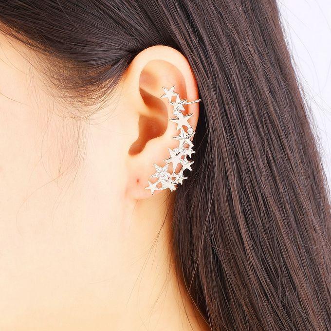 Allwin 1 Pair Fashion Star Ear Bone Clip On Ear Cuff ...