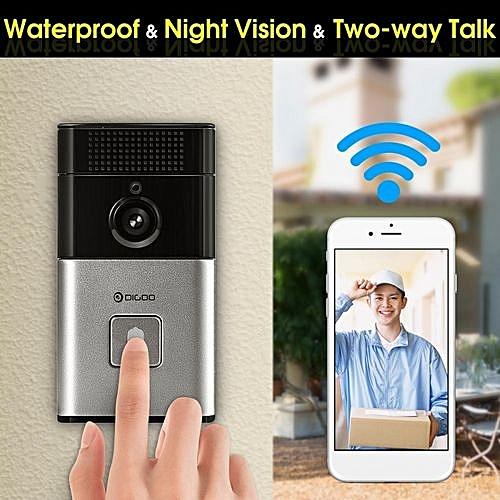 Digoo Smart DoorBell WiFi Video Camera Phone Door Intercom IR Night Vision P2P