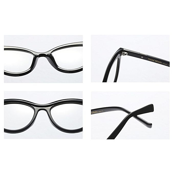 85c819fd513 ... Women Cat Eye Glasses Frames For Women Optical Eyeglasses - Black  Leopard ...