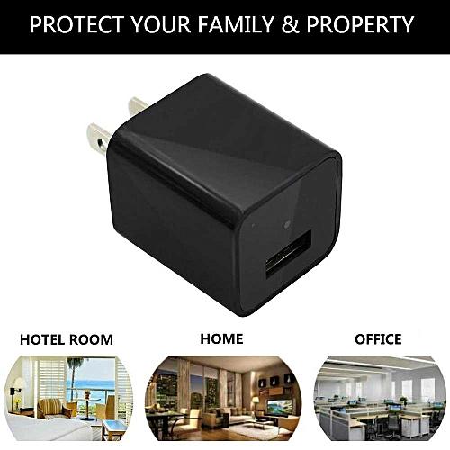 Wireless WIFI APP Remote HD 1080P Mini Camera Mini Camera USB With Wall Charger (EU) LBQ