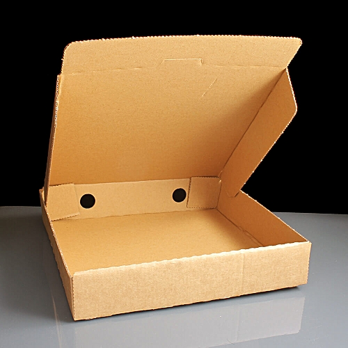 9'' BROWN PIZZA BOX - 50 UNITS
