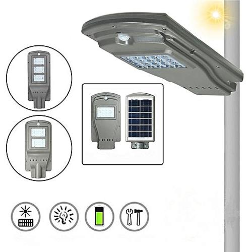 Smuxi 20LED 20/40/60W Solar Radar Sensor Light Control Wall Street Light Outdoor Wall Lamp Security Spot Lighting Waterpro