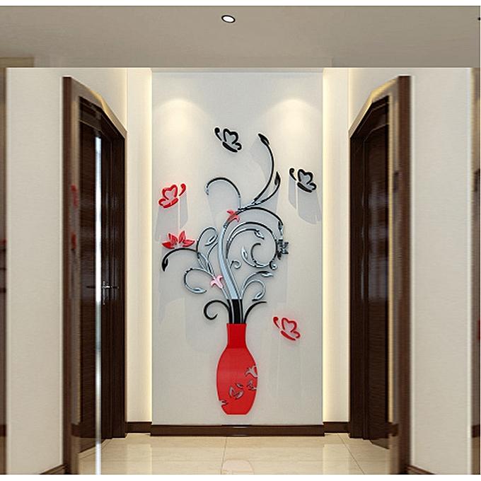 skywolfeye diy 3d acrylic crystal wall stickers living room bedroom