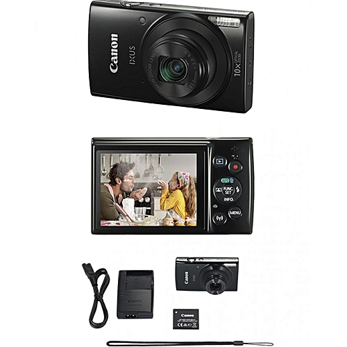 IXUS 180 Compact Camera With 2.7 Inch LCD Screen, 20MP, 10x Zoom