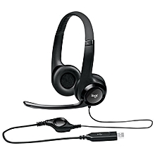 9a1c4e1711b H390 USB Headset With Clear Chat & Noise-Cancelling Mic