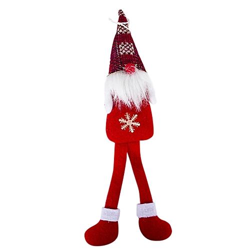 Handmade Santa Cloth Doll Birthday Present For Home Christmas Holiday Decoration Wannag