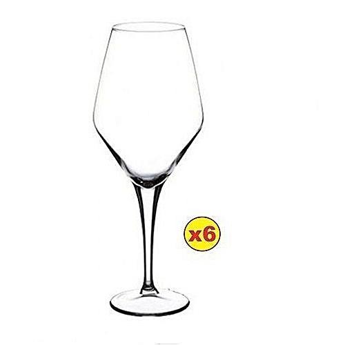 RED WINE GLASS SET - 6PCS