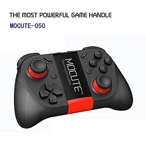 Bluetooth Game Controller Gamepad Joystick Android/IOS Built-in Phone Holder LBQ