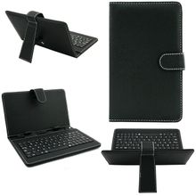 10.1 Inch Leather Case Cover For Android Tablet Micro USB Keyboard