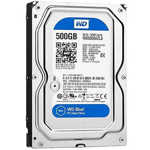 Western Digital 500gb Internal Hard Disk