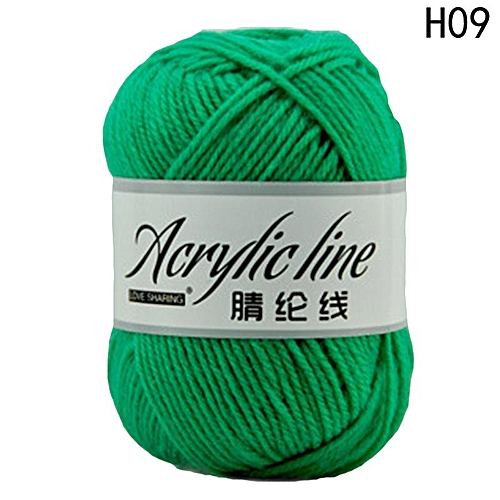Eleganya Pure Color Hook Shoes Dedicated High Quality Acrylic Knit Yarn H09