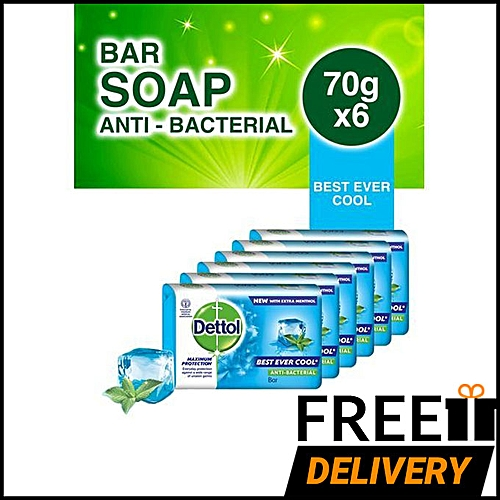 Soap Best Ever Cool - 70g (Pack Of 6)