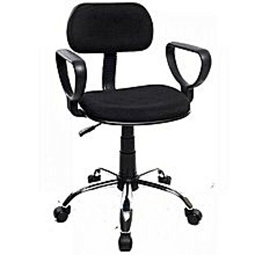 Secretary's Office Chair (Z245B) - Black
