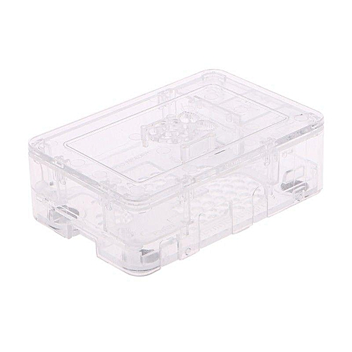ABS Updated Case Premium Raspberry Pi Case For Raspberry Pi 3 2 And B+ Transparent