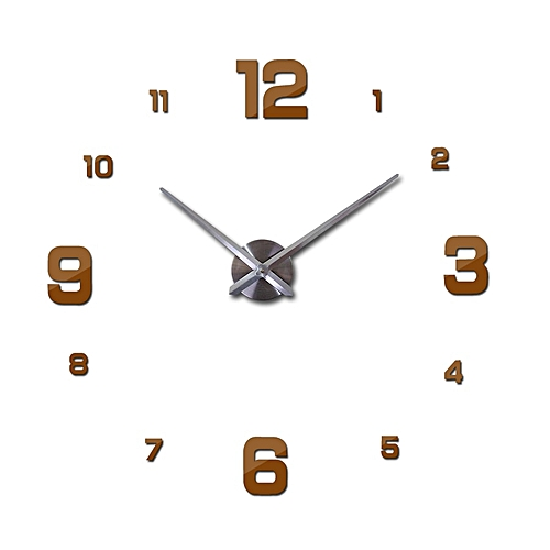 Large Wall Clock Watch 3d Wall Clocks De Pared Home Decoration 3d Wall Stickers Pecial Living Room Home Decoration Accessories SLS