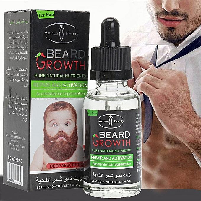 Deluxe Organics 3-In-1 Fastest Rapid Beard / Hair Growth Mix