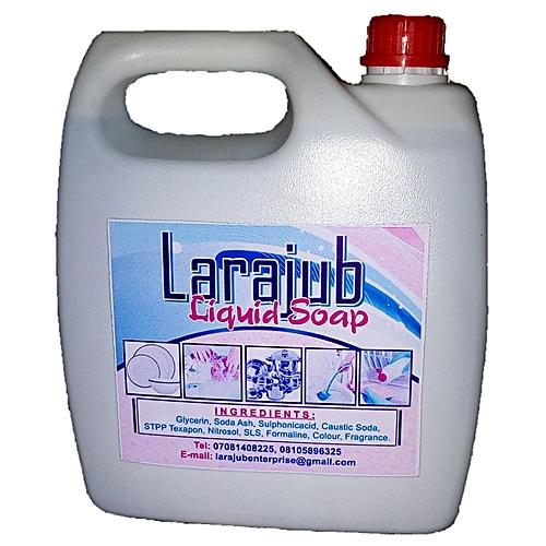 Larajub Dish Washing Liquid Soap - 4 Litres
