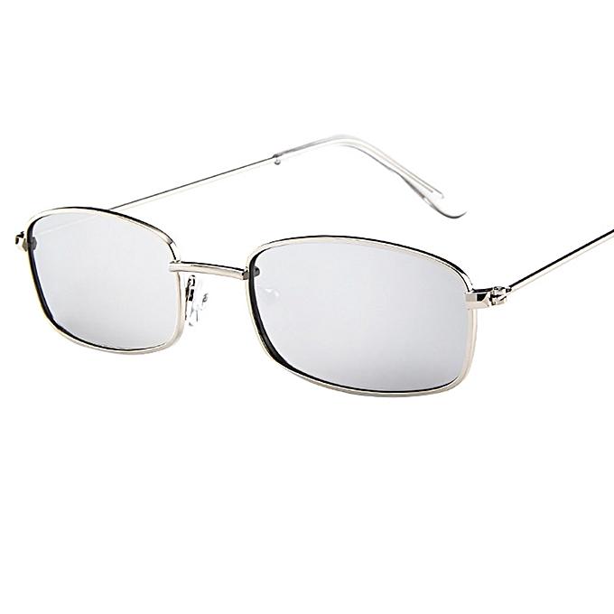 Fashion Tcetoctre Vintage Glasses Women Man Square Shades Small