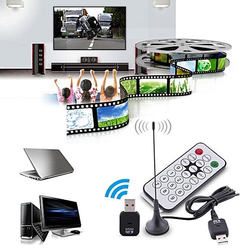 USB DVB-T Digital TV Receiver Tuner Stick Dongle OSD MPEG-2 MPEG-4 For Laptop PC