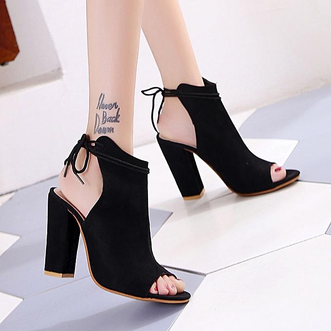 1d4b2591698 ... Bliccol High Heel Shoes Women s Shoes Platform Ladies Sandals Ankle  Strap Peep Toe High Heel Shoes ...