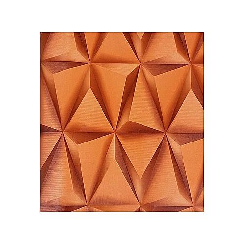 Generic 3d Effect Wallpaper- Orange Colour