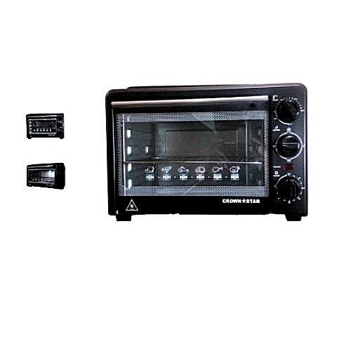 Electric Toaster Oven With Top Grill 19 Litres