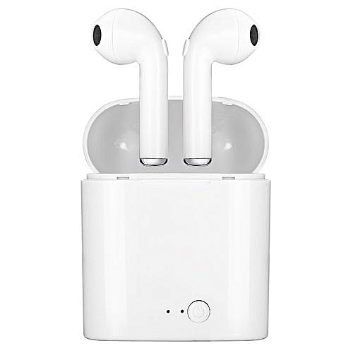 I7s TWS Mini Wireless Bluetooth Earphones Stereo Earbud Headset With Charging Box Mic For All Smart Phones
