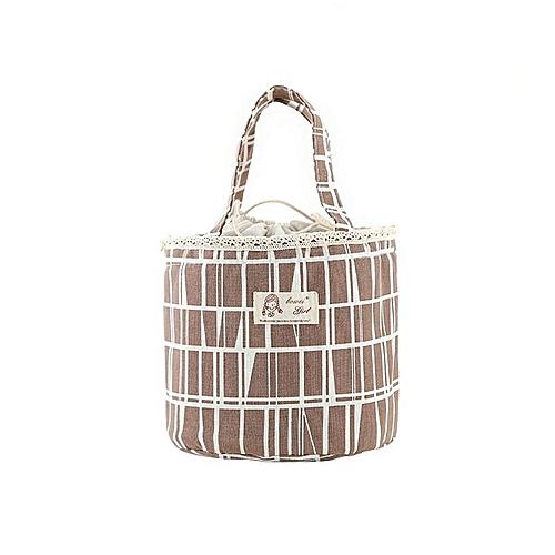 Simple Cotton Waterproof Portable Insulation Bag Firebird Lunch Bag Ice Bag