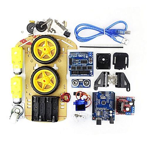 Smart Electronic Motor Robot Car Chassis Kit Speed Encoder