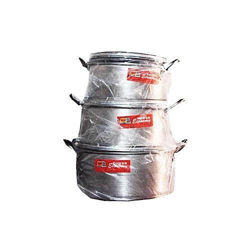 3 Set Of Cooking Pots