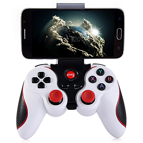 T3 Wireless Bluetooth Gamepad Controller For Android WHITE