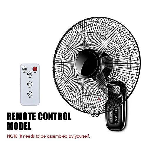 Oscillating Wall Mounted Fan HomeTimer 3 Gears Adjustable