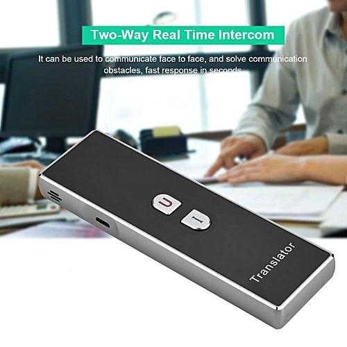 2.4G Wireless Pocket Interpreter Intelligent Real Time Voice Multilingual Travel Translator