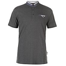 Modern Trim Polo Shirt - Charcoal 235413f14
