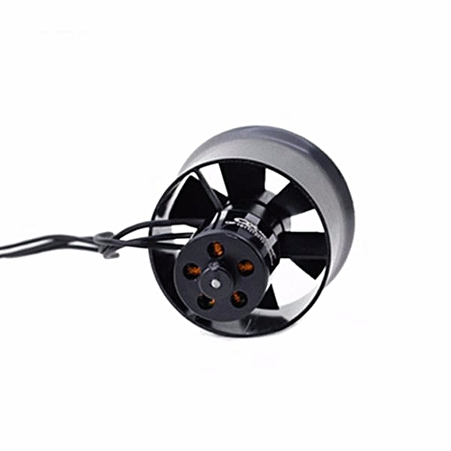 QX-Motor 30mm 6 Blades EDF Unit With QF1611 7000KV Brushless Motor-