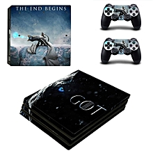 Game Of Thrones Winter Is Coming PS4 Pro Skin Sticker For PlayStation 4 Pro Console And Controller PS4 Pro Stickers Decal Vinyl(#YSP4P-1481) for sale  Nigeria