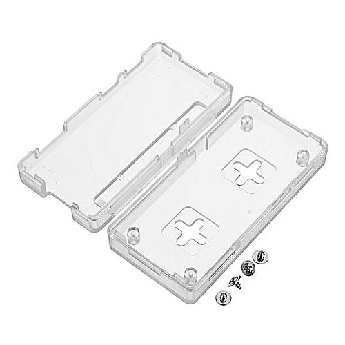 Latest Raspberry Pi Zero Case Plastic GPIO Reference Case For Raspberry Pi Zero W 1.3 Transparent
