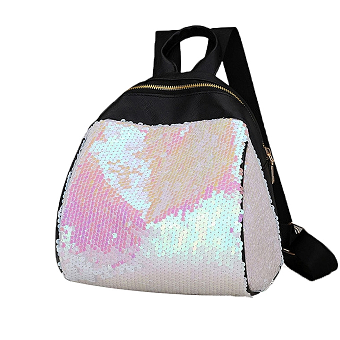 29cd4379ff5e Creative Women Girl Backpack Travel Rucksack Shoulder Shiny Sequins School  Bags