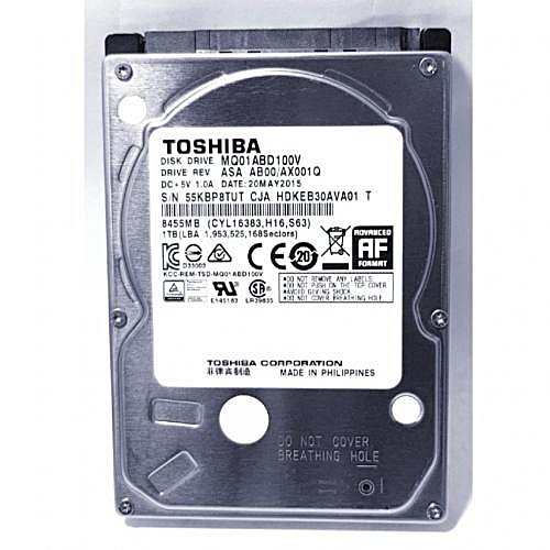 1TB Laptop Internal Hard Drive