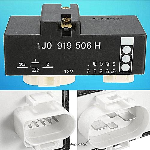 12V Cooling Fan Control Switch Relay Module For VW Beetle Golf Jetta 1J0919506H